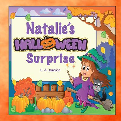 Natalie's Halloween Surprise (Personalized Books for Children) Cover Image