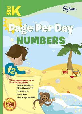 Pre-K Page Per Day: Numbers Cover Image