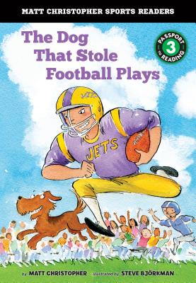 The Dog That Stole Football Plays (Matt Christopher Sports Readers) Cover Image