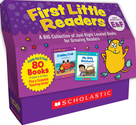First Little Readers: Guided Reading Levels E & F (Classroom Set): A Big Collection of Just-Right Leveled Books for Growing Readers Cover Image