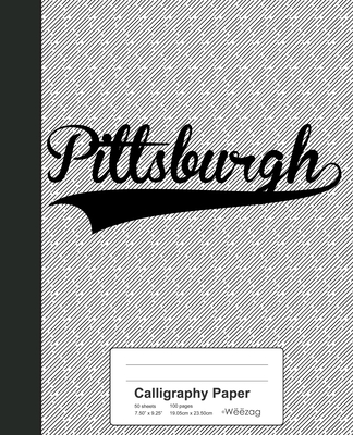 Calligraphy Paper: PITTSBURGH Notebook Cover Image