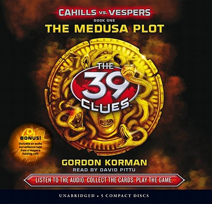 The 39 Clues: Cahills vs. Vespers Book 1: The Medusa Plot - Audio Library Edition Cover Image