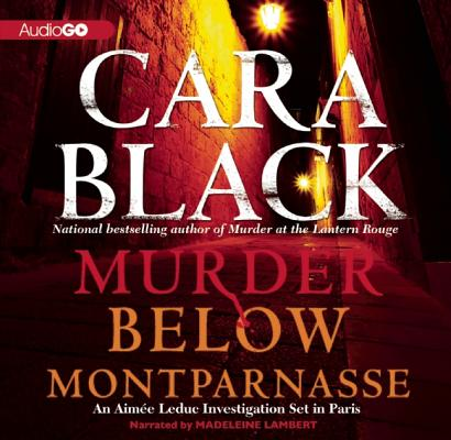 Murder Below Montparnasse (Aimee Leduc Investigations) Cover Image