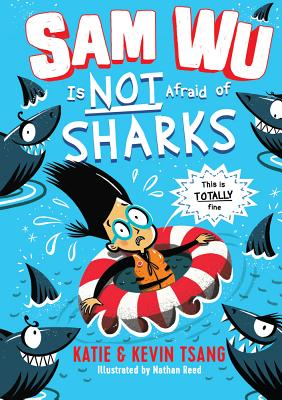 Sam Wu Is Not Afraid of Sharks, 2 Cover Image