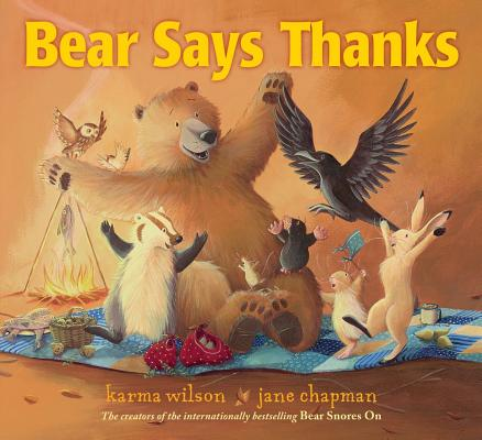 Bear Says Thanks (The Bear Books) Cover Image