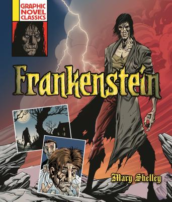 Frankenstein (Graphic Novel Classics) Cover Image