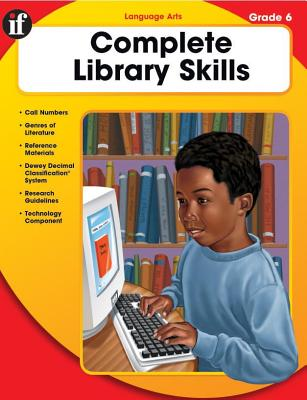 Complete Library Skills, Grade 6 Cover Image