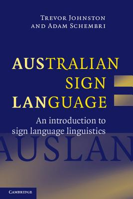 Cover for Australian Sign Language