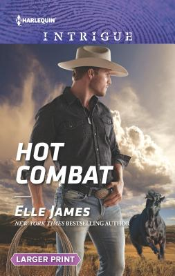 Cover for Hot Combat (Harlequin Intrigue Large Print)