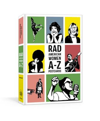 Rad American Women A-Z Postcards (Rad Women) Cover Image