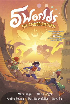5 Worlds Book 4: The Amber Anthem Cover Image