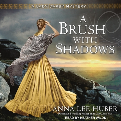 Cover for A Brush with Shadows (Lady Darby Mysteries #6)