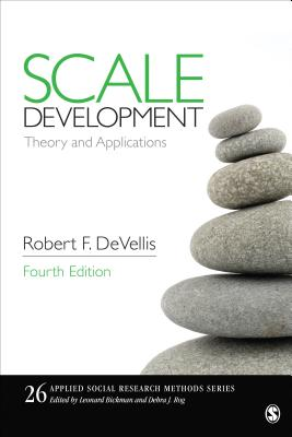 Scale Development: Theory and Applications (Applied Social Research Methods #26) Cover Image