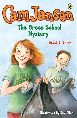 Cam Jansen: the Green School Mystery #28 Cover Image