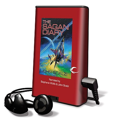 The Sagan Diary [With Earbuds] Cover