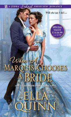 When a Marquis Chooses a Bride (The Worthingtons #2) Cover Image