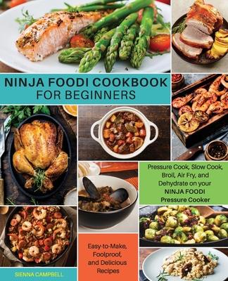 Ninja Foodi Cookbook for Beginners Cover Image