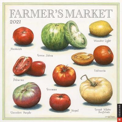 Farmer's Market 2021 Wall Calendar Cover Image