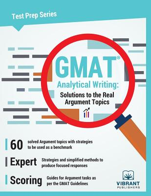 GMAT Analytical Writing: Solutions to the Real Argument Topics (Test Prep #10) Cover Image