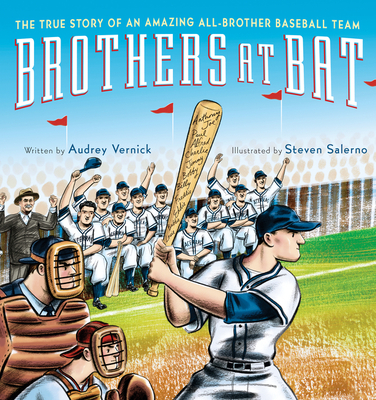 Brothers at Bat: The True Story of an Amazing All-Brother Baseball Team Cover Image