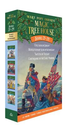 Cover for Magic Tree House Books 21-24 Boxed Set