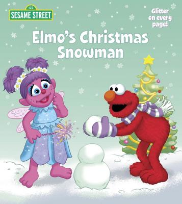Elmo's Christmas Snowman Cover