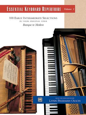 Essential Keyboard Repertoire, Vol 1: 100 Early Intermediate Selections in Their Original Form - Baroque to Modern, Comb Bound Book (Alfred Masterwork Edition: Essential Keyboard Repertoire) Cover Image