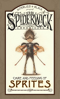 Spiderwick Chronicles Care and Feeding of Sprites Cover