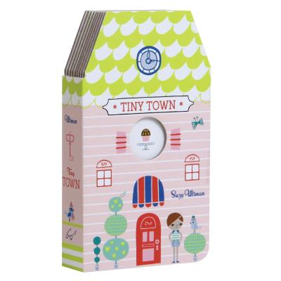 Tiny Town: (Board Books for Toddlers, Interactive Children's Books) Cover Image