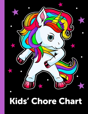 Kids' Chore Chart: Daily and Weekly Responsibility Tracker for Kids Cover Image