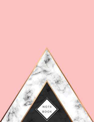 Notebook: Marble on pink cover and Dot Graph Line Sketch pages, Extra large (8.5 x 11) inches, 110 pages, White paper, Sketch, D Cover Image