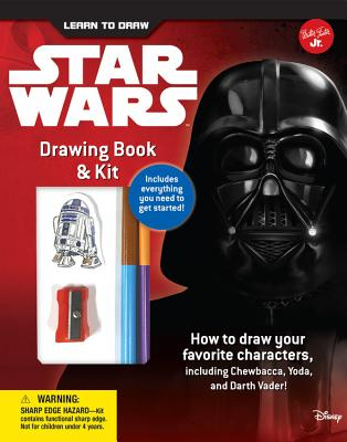 Learn to Draw Star Wars Drawing Book & Kit: Includes everything you need to get started! How to draw your favorite characters, including Chewbacca, Yoda, and Darth Vader! (Licensed Learn to Draw) Cover Image