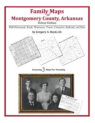 Family Maps of Montgomery County, Arkansas Cover Image