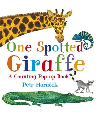 One Spotted Giraffe: A Counting Pop-Up Book Cover Image