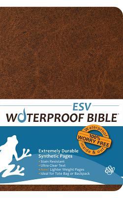 Waterproof Bible-Esv-Brown Cover Image