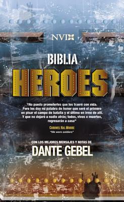 Biblia Heroes Con Dante Gebel-NVI Cover Image
