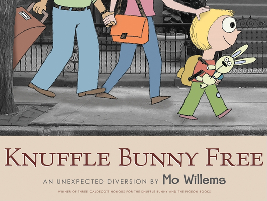 Knuffle Bunny Free: An Unexpected Diversion Cover Image