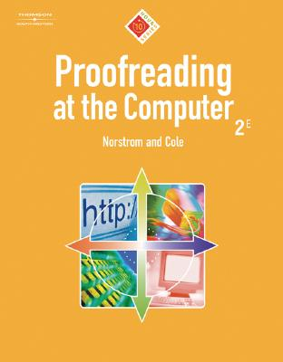 Proofreading at the Computer, 10-Hour Series (10 Hour (South-Western)) Cover Image
