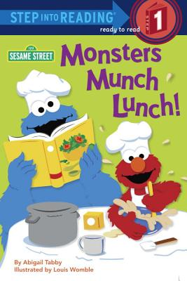 Monsters Munch Lunch! (Sesame Street) Cover