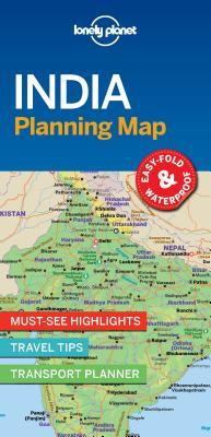 Lonely Planet India Planning Map 1 (Planning Maps) Cover Image
