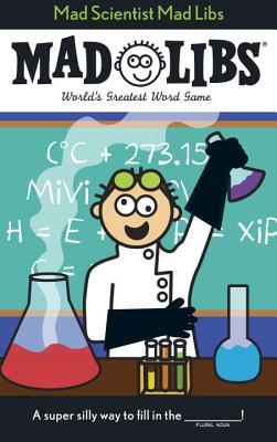 Mad Scientist Mad Libs Cover Image