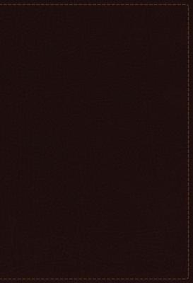 NKJV Study Bible, Premium Bonded Leather, Burgundy, Indexed, Red Letter Edition, Comfort Print: The Complete Resource for Studying God's Word Cover Image