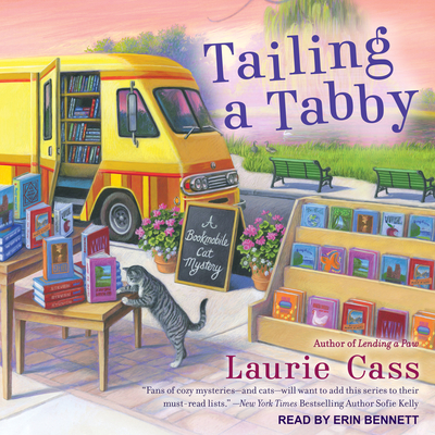 Tailing a Tabby (Bookmobile Cat Mystery #2) Cover Image