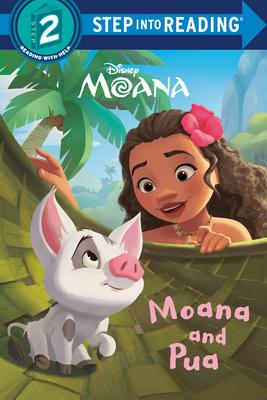 Moana and Pua (Disney Moana) (Step into Reading) Cover Image
