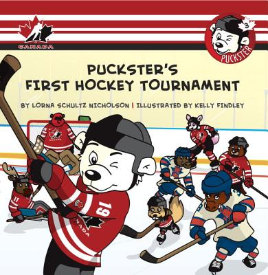 Puckster's First Hockey Tournament Cover Image