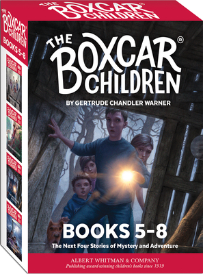 The Boxcar Children Mysteries Boxed Set #5-8 Cover Image