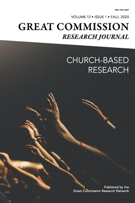 Great Commission Research Journal Fall 2020 Cover Image