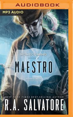 Maestro (Legend of Drizzt: Homecoming #2) Cover Image