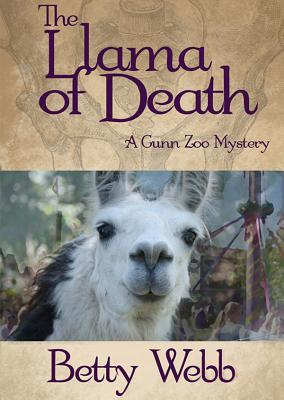 The Llama of Death: A Gunn Zoo Mystery (Gunn Zoo Mysteries (Audio) #3) Cover Image