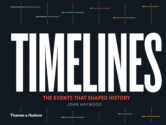 Timelines: The Events that Shaped History Cover Image